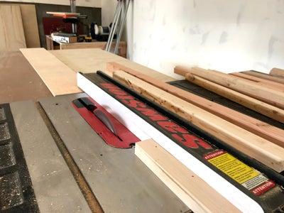 Prepare Your Frame Lumber