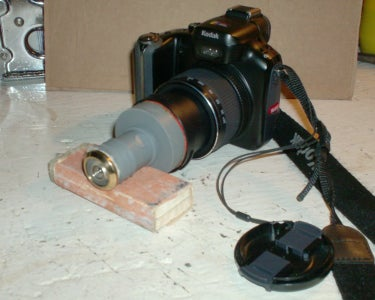 "How to Adapt a Door Viewer ""Fish-eye Lens"" on to a Full-size Camera"
