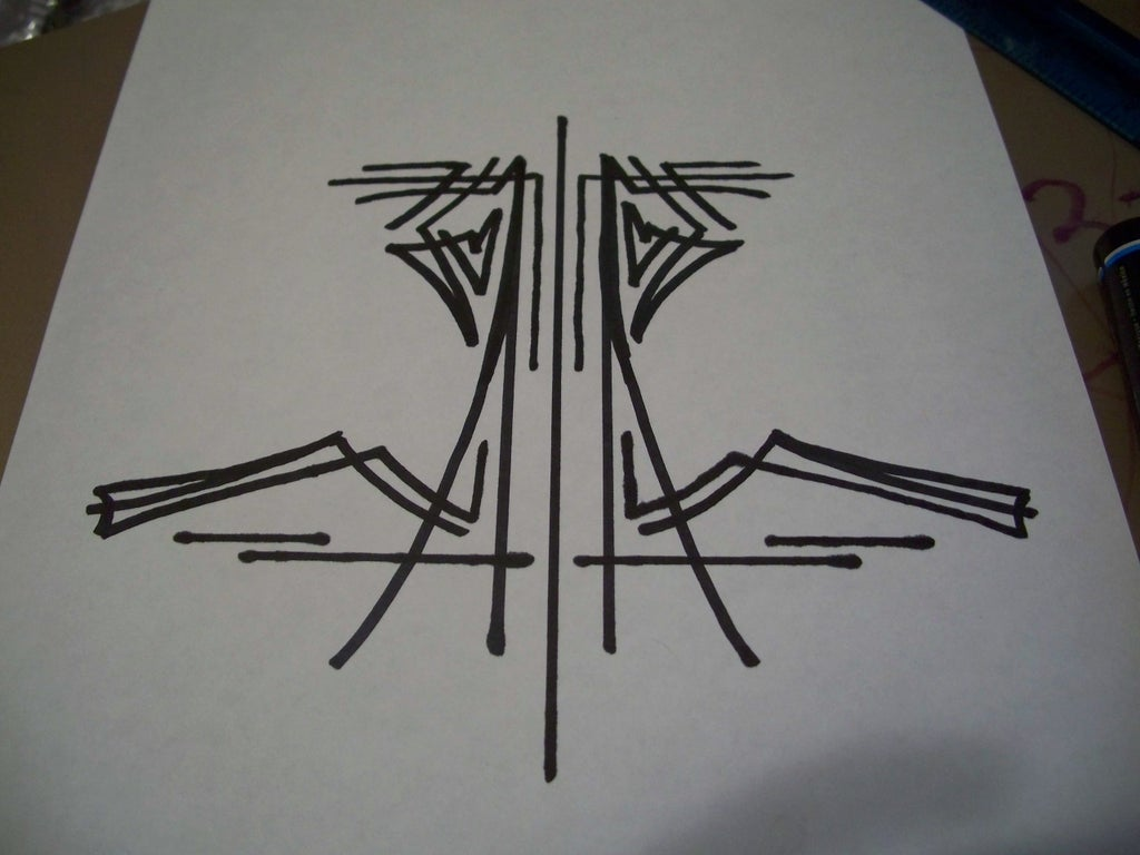 Pinstriping Basic Design 8 Steps Instructables