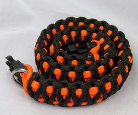 Paracord dog collar tutorial