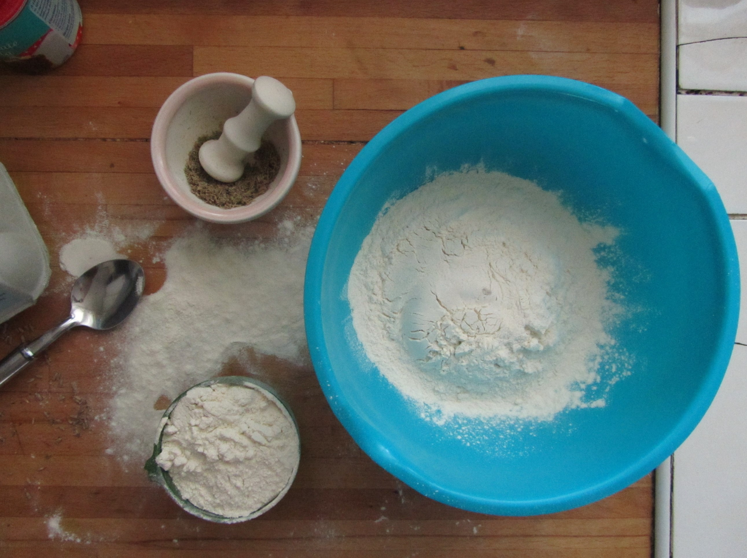 Picture of Weigh the Dry Ingredients