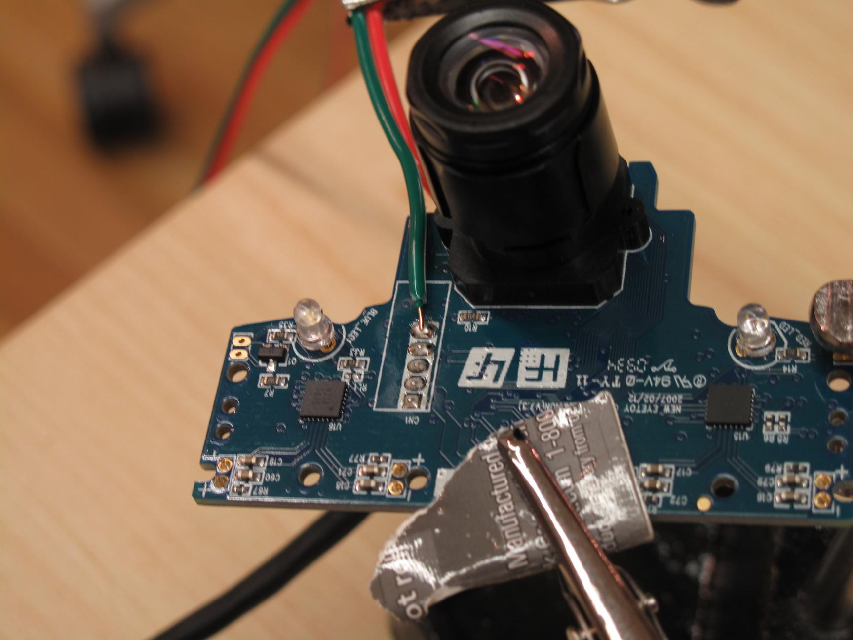 Picture of Hacking the PS Eye Camera - VSync