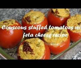 Couscous Stuffed Tomatoes With Feta Cheese Recipe