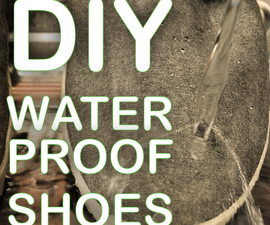 How to transform your regular shoes to be waterproof