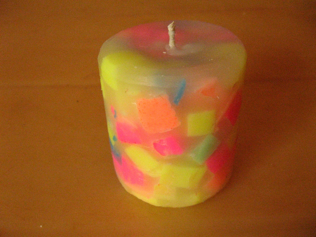Picture of Fun Projects: Chunk Candles