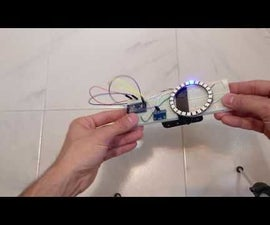 Gyroscope Fun With Neopixel Ring
