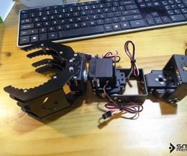 Robotic Arm With Zio Modules Part 2