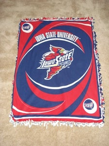 No Sew Cyclone Fleece Blanket