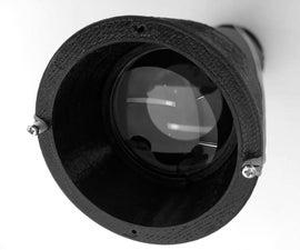3D Printed Ethernet Telescope