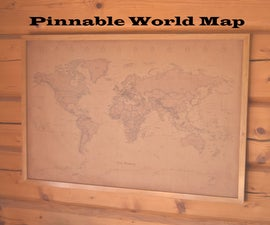 Pinnable World Map