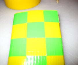 Checker Duct Tape Wallet