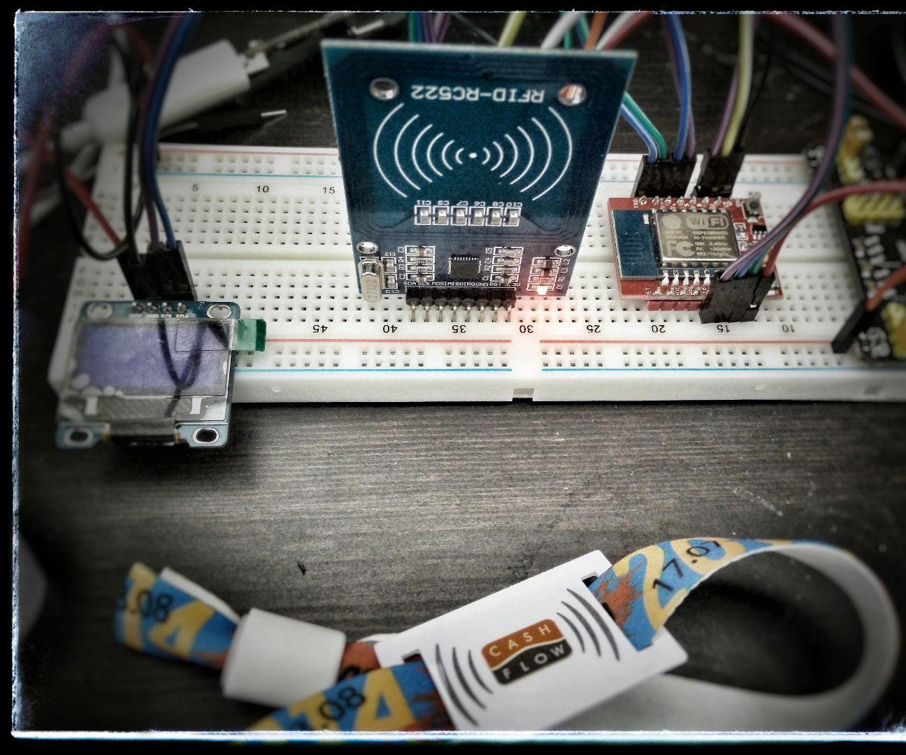 WiFi RFID Reader: 4 Steps
