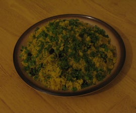 Golden Spiced Couscous with Caramelised Onions