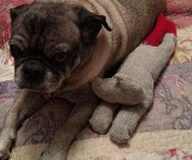 Sock-Cat Dog Toy
