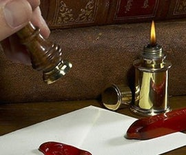 Clay Wax Letter Sealer