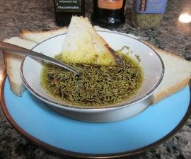 Italian Bread & Dipping Sauce