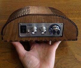Create a Small Laser Cut Amplifier (enclosure)