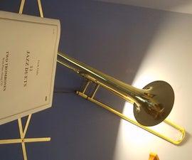 Trombone Lamp!
