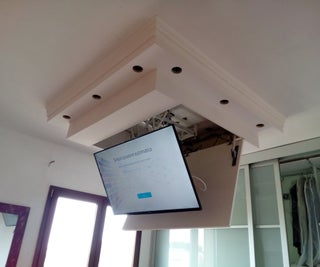 """TV LCD 48"""" Motorized Lift Down Ceiling System"""
