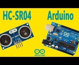 Arduino - Ultrasonic Sensor HC-SR04
