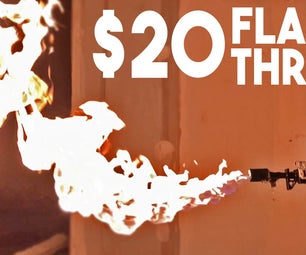 Elon Musk's Boring Flame Thrower for $20