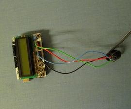 Finger Pulse Oximeter Using MAX30100