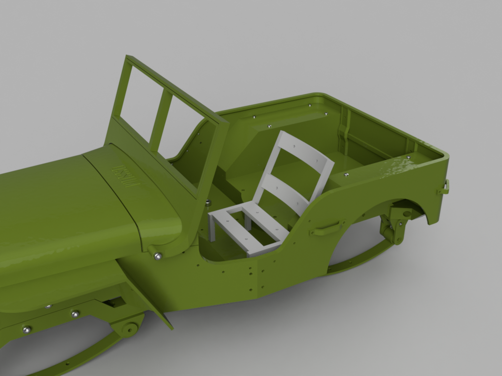 Picture of Assemble Jeep: Seats