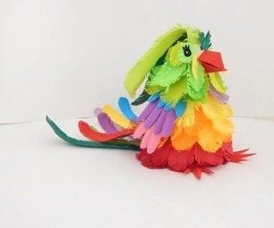 DIY:PAPER BIRD
