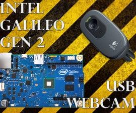 Streaming USB Webcam with the Intel Galileo Gen 2