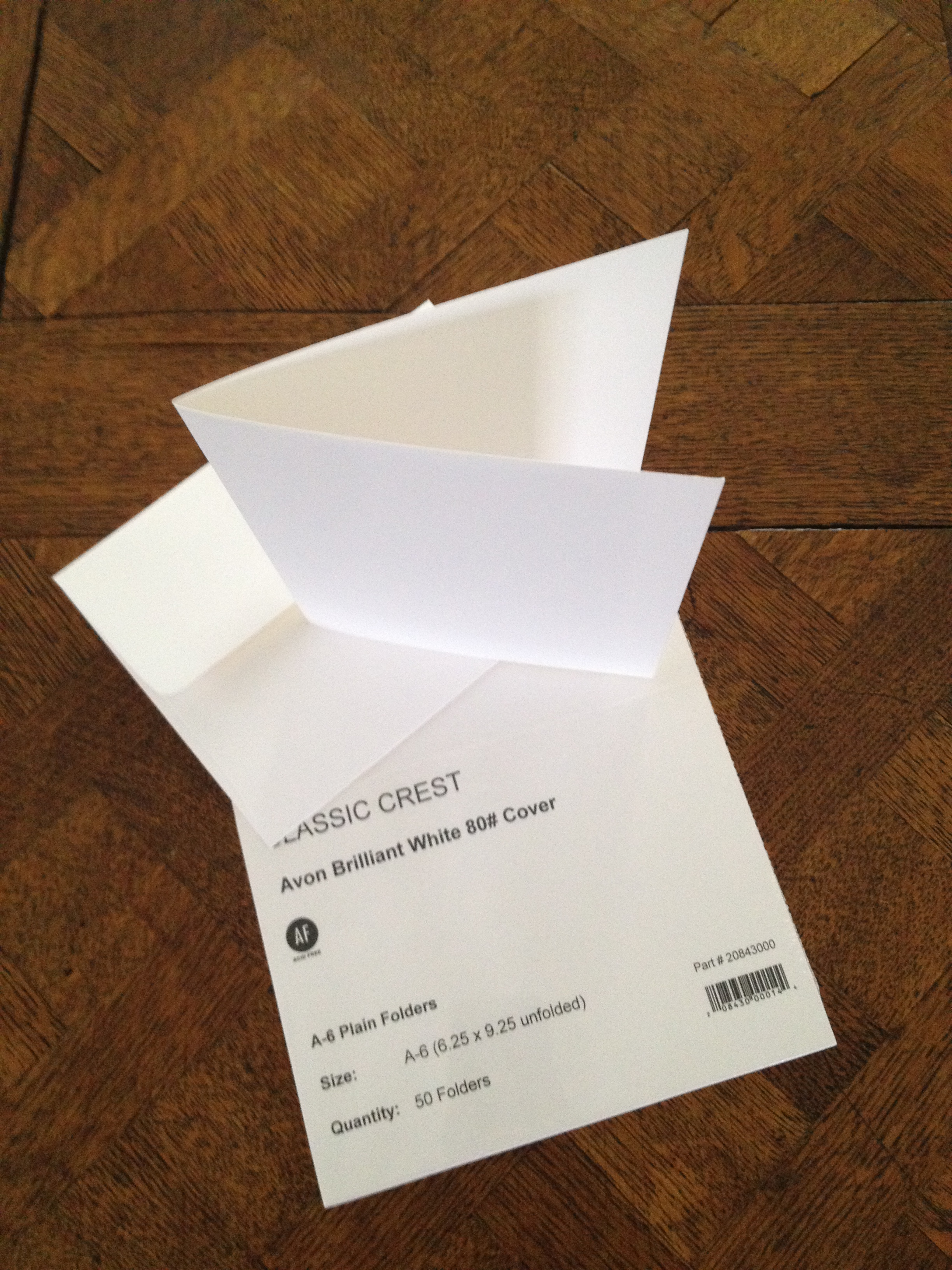 Picture of Card Stock and Envelopes