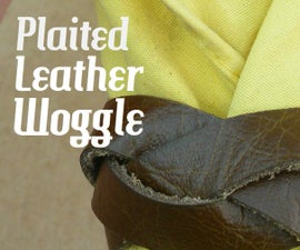 Plaited Leather Woggle