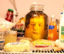 head in a jar prank