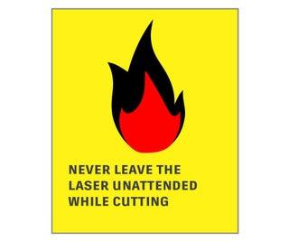 Putting Out a Laser Cutter Fire