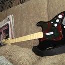 Custom Rockband pickguard design