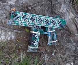 K'nex Machine Pistol: Refuge + Instructions