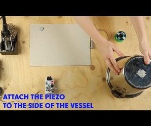 DIY Speaker Pieizo Plate Reverb