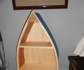 How to build a boat shelf.