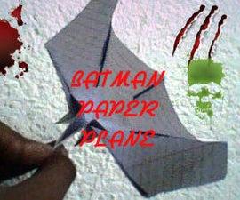 batman paper plane