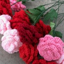 Easy Crocheted Roses