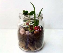 DIY Mason Jar Garden