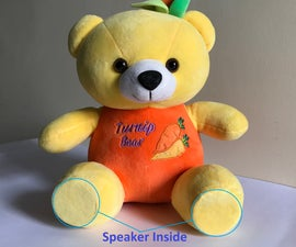 Convert a Teddy Bear Into a Hidden Bluetooth Speaker