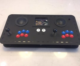 Portable 2 Player Arcade Console With RPi and Teensy