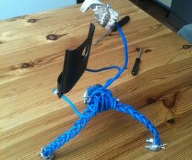 Cheap and sturdy iPhone tripod/holder