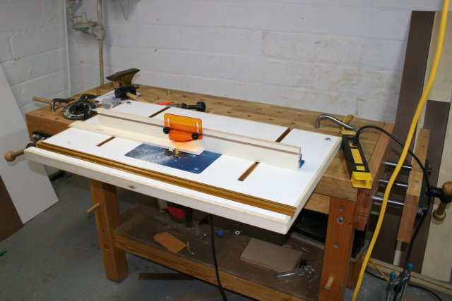 Picture of Bench-mounted Router Table