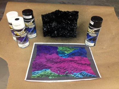 Applying the Color-changing Paints
