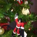Homemade Super Hero Christmas Ornament