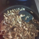 Finnish Fried Mushrooms (aka Mashed Mushrooms)