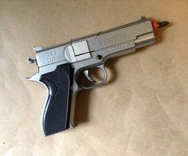 Gundriver- An Electric Screwdriver Inside a Toy Gun