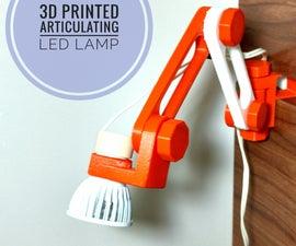 3D Printed Articulating Lamp