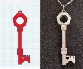Creating a Key Pendant With Tinkercad
